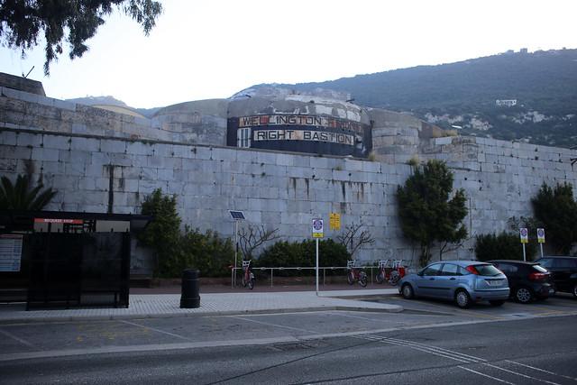 Wellington Front Right Bastion, Gibraltar