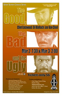 Good, Bad Ugly poster | by 7th Street Theatre