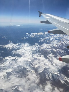Flying over the Pyrenees mountains | by Phil & Catherine Wilkins