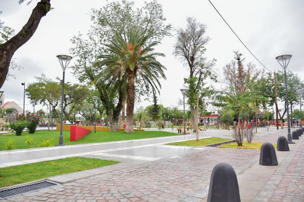 2019-01-15 PRENSA: Inauguraciòn de plaza y peatonal de chimbas