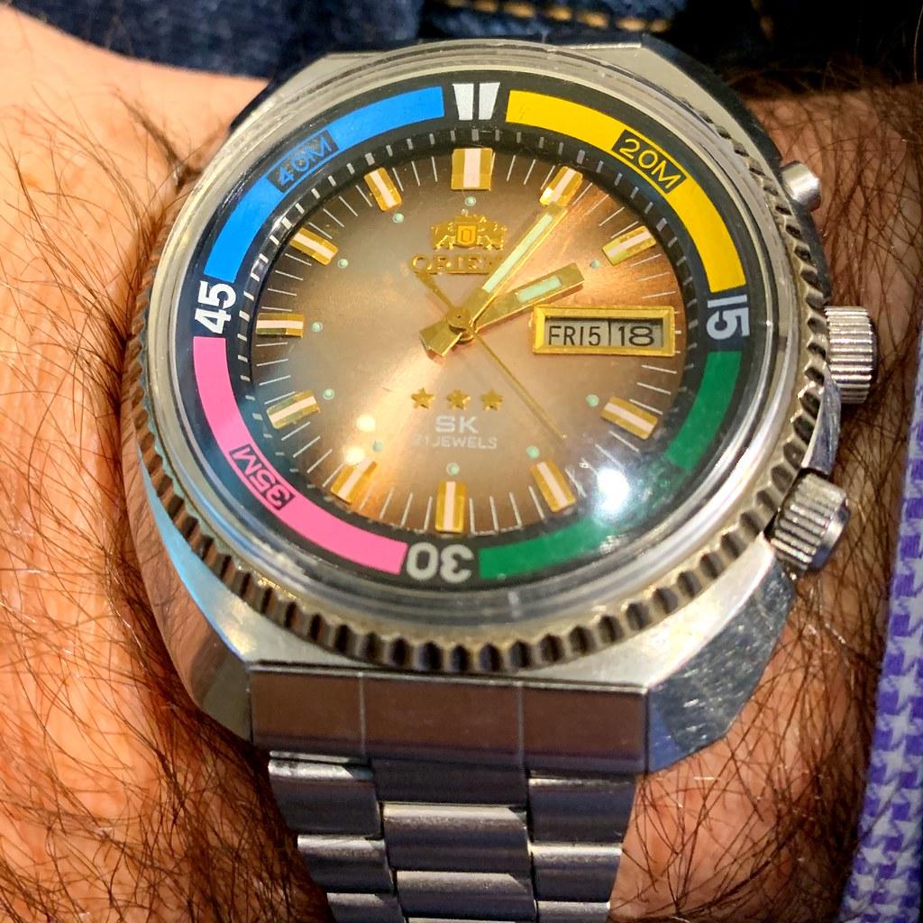 Orient Sea King Watch