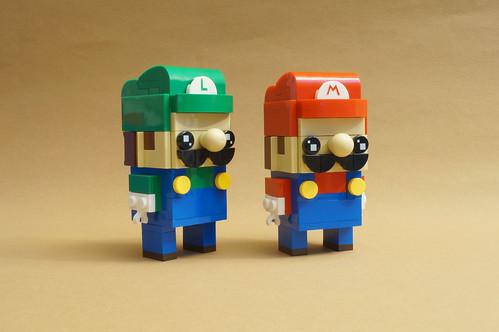 Super Mario Bors. – Brickheadz Version