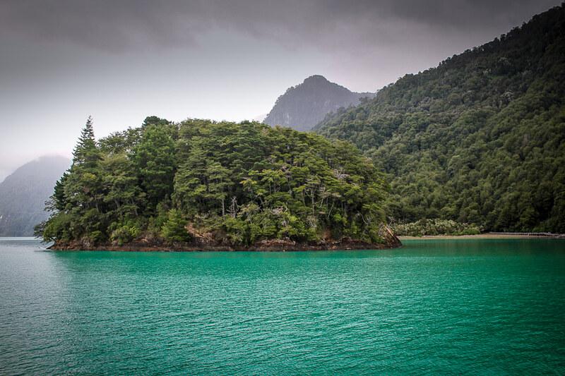 navegacion en el lago