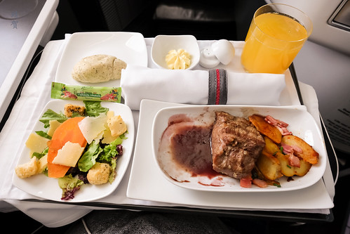 Inflight meal   by A. Wee