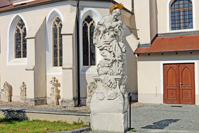 Zöbing. Hl.Josef, um 1730 - Barock