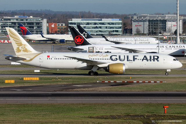 A9C-FE  -  Boeing 787-9 Dreamliner  -  Gulf Air  -  LHR/EGLL 11-2-19