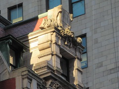 New Amsterdam Theatre Window Gargoyle 3722