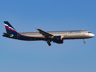 Aeroflot Russian Airlines | Airbus A321-211 | VQ-BED