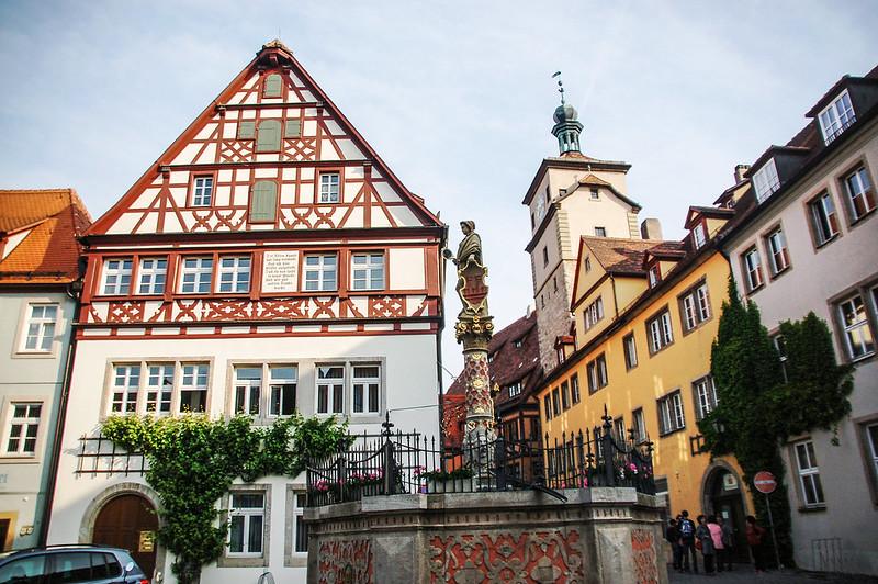 羅騰堡的建築 1