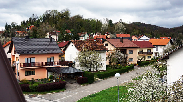 Houses in Spring