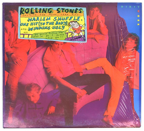 A0658 ROLLING STONES Dirty Work