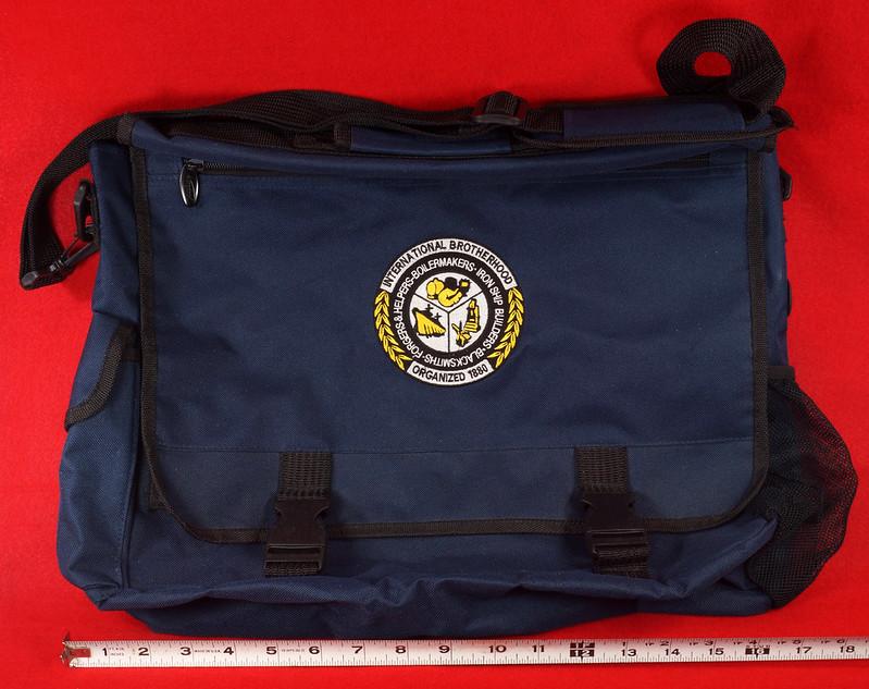 RD17312 Boilermakers, Shipbuilders, Blacksmiths, Forgers AFL-CIO-CFL Brotherhood Messenger Shoulder Bag DSC09434