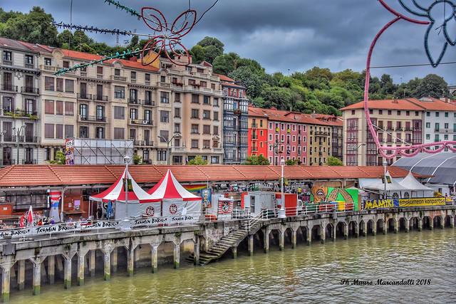 Bilbao, la grande festa di agosto sul fiume Nervion