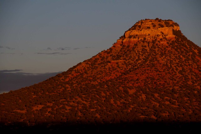 Starvation Peak at dawn, New Mexico