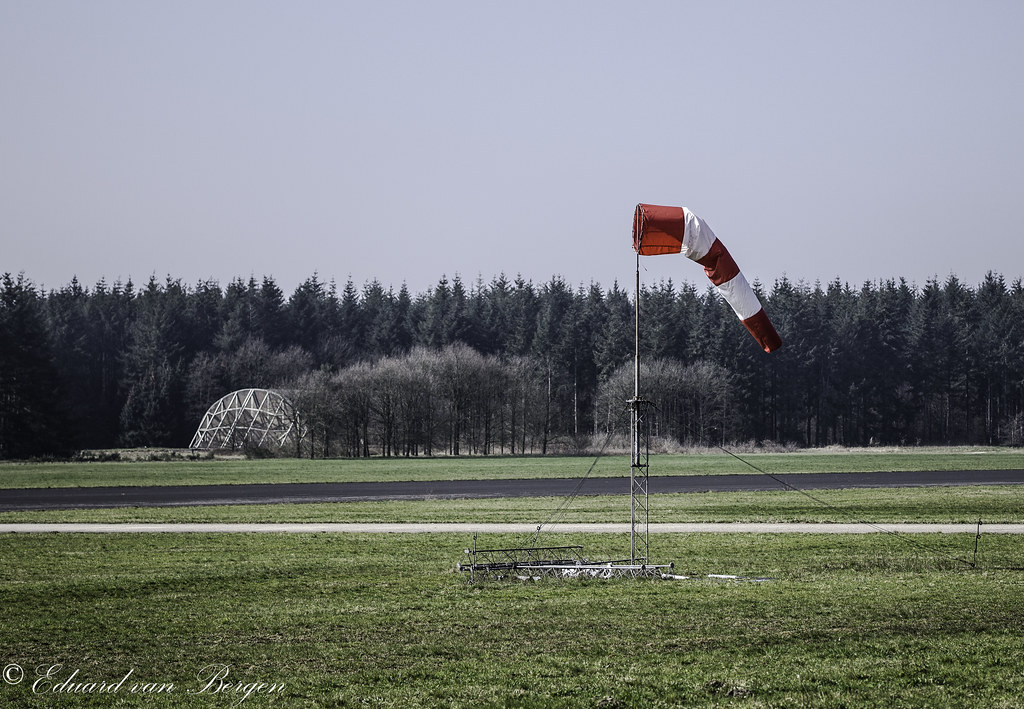 Windsock used by gliders in the weekends