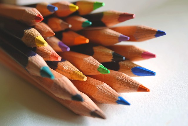 United colors Pencils #ThroughHerLens