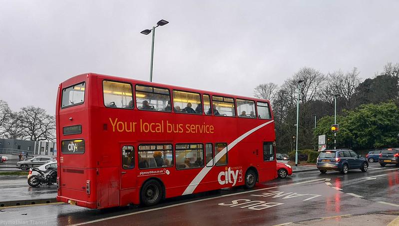 Plymouth Citybus 482 PK02RDU