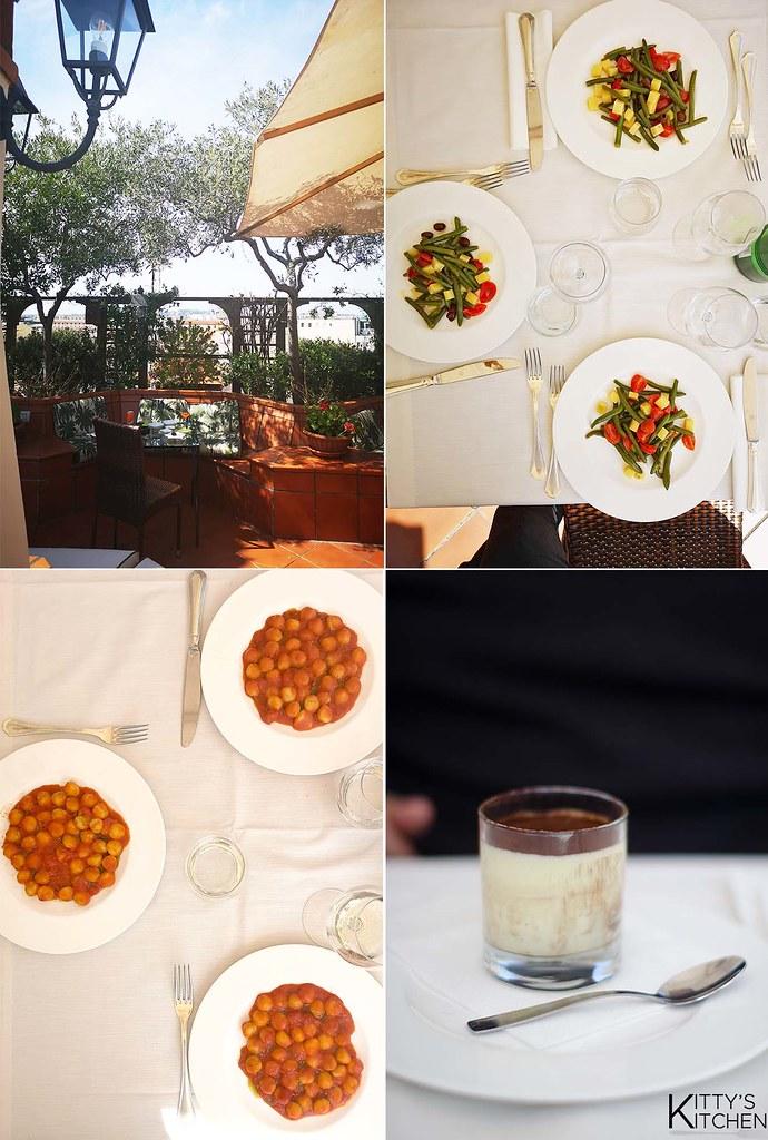Assaggiare le nocciole - Hotel Diana roof garden