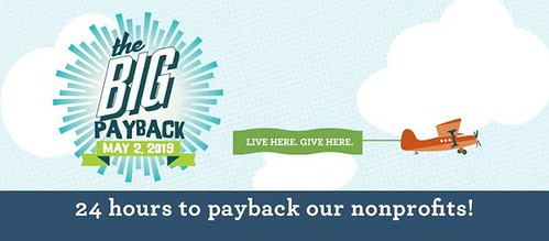 3 weeks from today! Local non-profits work hard to make our communities better places to live. On Thursday May 2, support your favorite non-profit with a donation. None too big, none too small! #BigPayback | by qcdickson