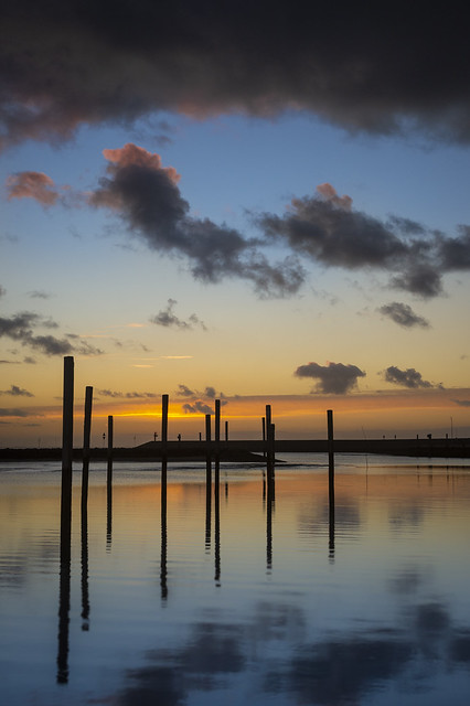 Winter Sunset at the North sea // Winterlicher Sonnenuntergang an der Nordsee