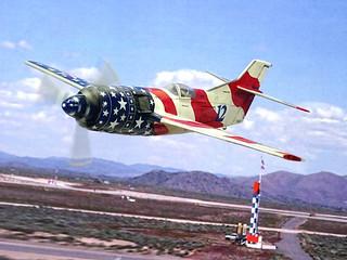 "1:72 Cornell/Jackson Special ""American Spirit"" (Bu. No. N5032Q/#12) Air Speed Record/Reno Unlimited Class Racer, 1998 (Whif/kitbashing) | by dizzyfugu"