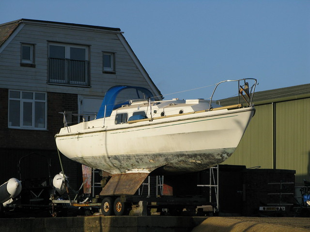 117. An unfinished symphony – The maintenance of a small cruising yacht - the junk rig