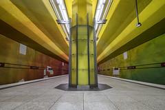 Candidplatz Underground Station | Munich | Germany