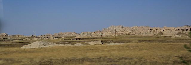 Badlands National Park, South Dakota, USA.