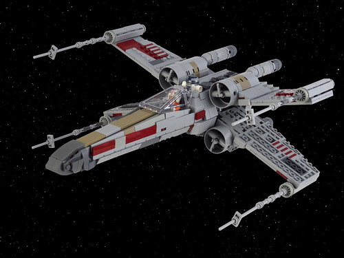 Red Five X-wing starfighter | by Swan Dutchman