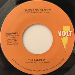 THE BAR-KAYS:SON OF SHAFT(LABEL SIDE-B)