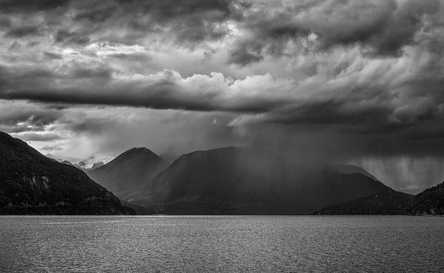 Storm, Howe Sound