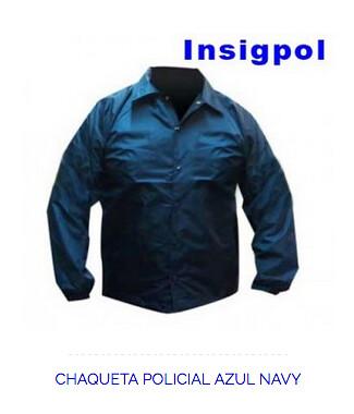 Chaqueta policial norteamericana | CHAQUETA POLICIAL AZUL NA