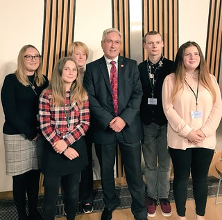 Hosting Adoption UK reception at Holyrood | by Iain Gray MSP