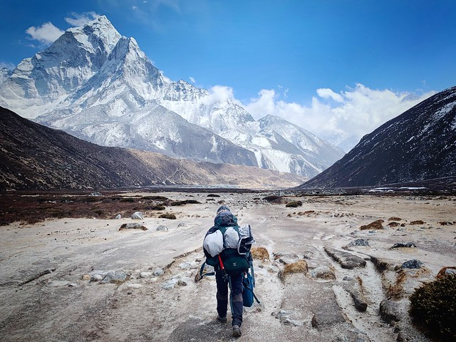 The Road to Periche, Nepal