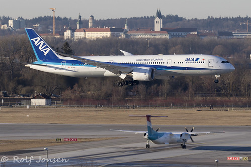 JA878A Boeing 787-8 All Nippon Airlines Munich airport EDDM 17.02-19 | by rjonsen