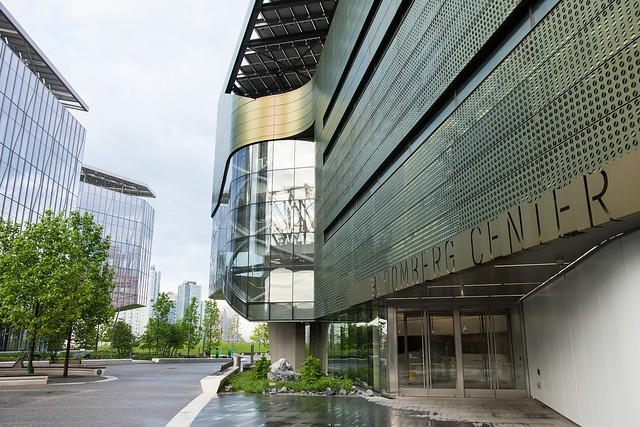 Bloomberg Center on Cornell Tech campus