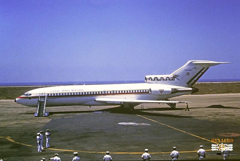 Fuerza Aérea Mexicana | Boeing 727-51 | TP-01