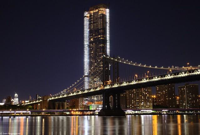 Manhattan Bridge am Abend des 25.06.18