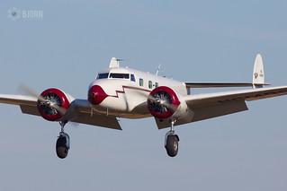 NC14999 Lockheed 12A Electra Junior, Genk/zwartberg EBZW/GNK   by neplev1
