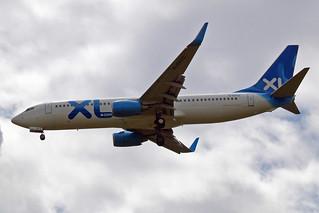 G-OXLC   Boeing 737-8BK [33029] (XL Airways) Gatwick~G 19/07/2007