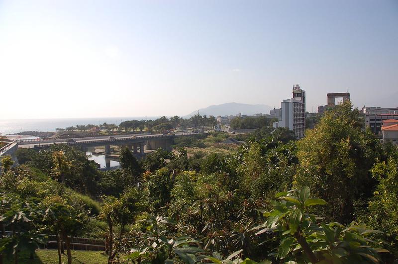 俯瞰花蓮(From 溪畔公園)