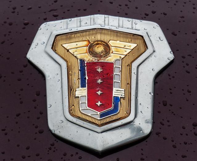 Mercury Emblem In The Rain