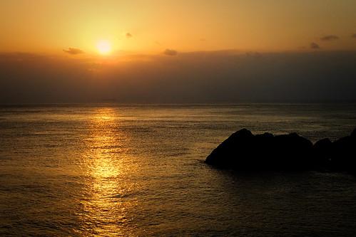 coucherdesoleil sunset mer eau océan ciel lanyu chaud taïwan