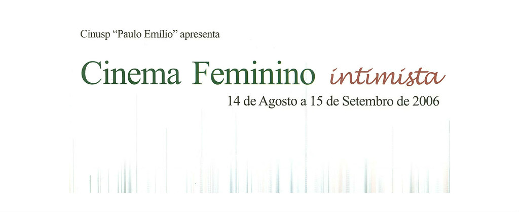 Cinema Feminino Intimista