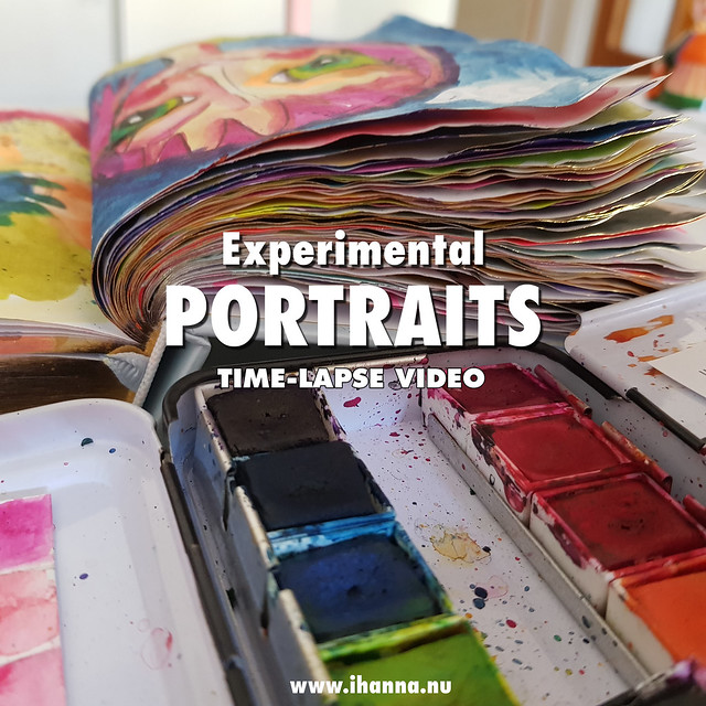 Experimental Portraits | Time-lapse Video