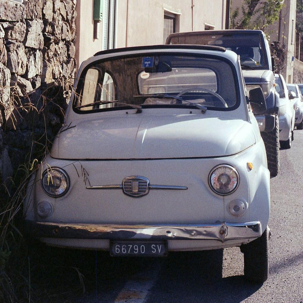 2019 Fiat 500: Savona. 13-01-2019 YASHICA FX-3 Super