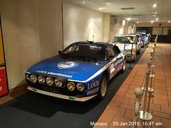 Lancia 037 Groupe B Rally Car Displayed at Palais Princier De Monaco