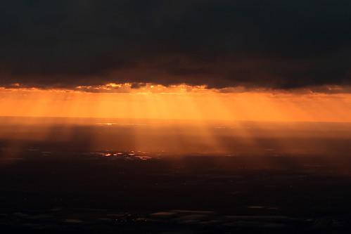 2019 usa britishairways plane moroccotrip boeing787 sunset