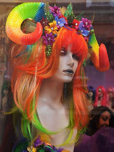 neworleans louisiana neworleanscitytrip streetviews street city citytrip cityscape architecture mardigras headdress wigs shop indoor dnysmphotography dnysmsmugmugcom