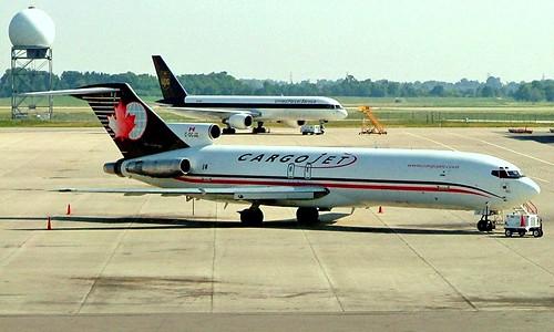 C-GCJZ   Boeing 727-225F [21854] (CargoJet Airways) Hamilton Int'l~C 24/06/2005